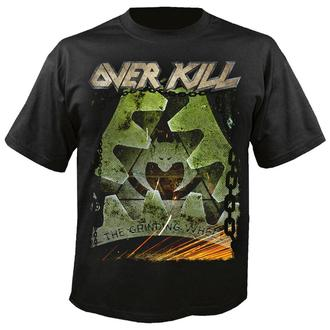 t-shirt metal uomo Overkill - The grinding wheel - NUCLEAR BLAST, NUCLEAR BLAST, Overkill