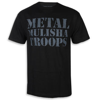 t-shirt street uomo - OG TROOPS BLK - METAL MULISHA, METAL MULISHA