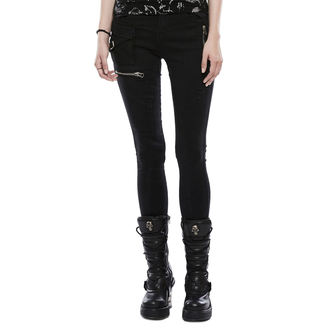 Pantaloni Da donna (jeans) PUNK RAVE - Black Star, PUNK RAVE
