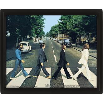 Poster 3D Beatles, NNM, Beatles