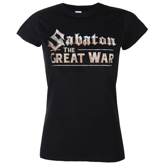 t-shirt metal donna Sabaton - The great war - NUCLEAR BLAST, NUCLEAR BLAST, Sabaton