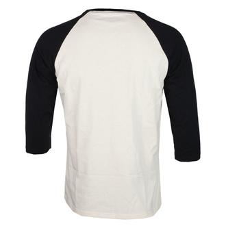 Maglietta da uomo con maniche 3/4  NIRVANA - SERVE THE SERVANTS - ECRU / NERO - GOT TO HAVE IT, GOT TO HAVE IT, Nirvana