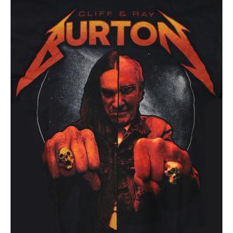 tričko pánské Cliff Burton - Ray & Cliff Burton - Black, NNM, Metallica