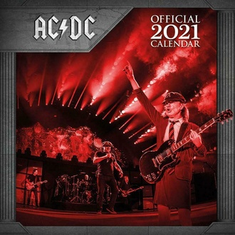 Calendario AC/DC 2021, NNM, AC-DC