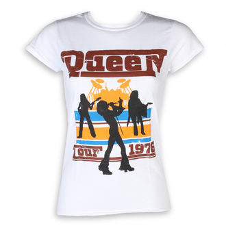 t-shirt metal donna Queen - 76 Tour - ROCK OFF, ROCK OFF, Queen