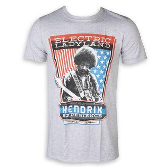 t-shirt metal uomo Jimi Hendrix - Electric - ROCK OFF, ROCK OFF, Jimi Hendrix