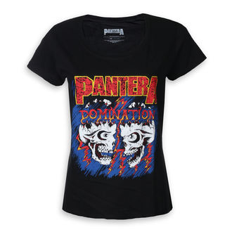 t-shirt metal donna Pantera - Domination - ROCK OFF, ROCK OFF, Pantera