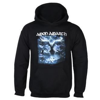 Felpa da uomo con cappuccio AMON AMARTH - RAVEN'S FLIGHT - NERO - PLASTIC HEAD, PLASTIC HEAD, Amon Amarth