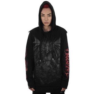 Felpa da donna con cappuccio KILLSTAR - Satan Is A Woman Hoodie, KILLSTAR