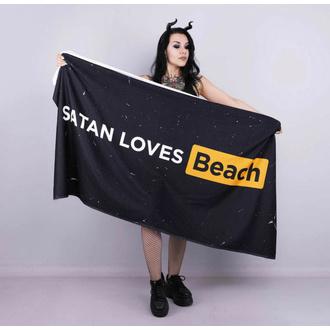 Asciugamano (telo da bagno) HOLY BLVK - SATAN LOVES BEACH, HOLY BLVK