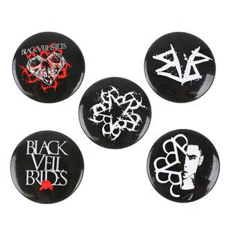 Distintivi Black Veil Brides - RAZAMATAZ, RAZAMATAZ, Black Veil Brides