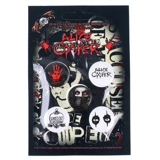 Distintivi Alice Cooper - RAZAMATAZ, RAZAMATAZ, Alice Cooper