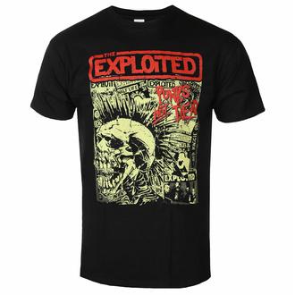 Maglietta da uomo THE EXPLOITED - PUNKS NOT DEAD - NERO - PLASTIC HEAD, PLASTIC HEAD, Exploited