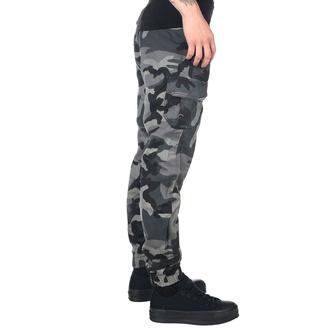 pantaloni URBAN CLASSICS - High Waist - buio camo, URBAN CLASSICS