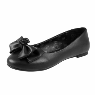 Scarpe da donna (ballerine) KILLSTAR - Bow Down Ballet Flats - Nero, KILLSTAR