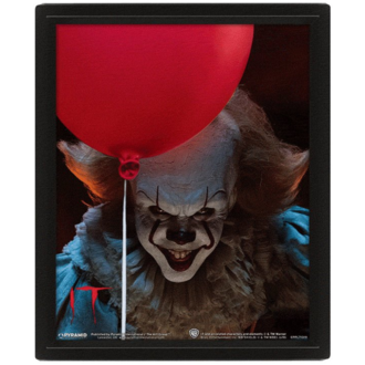 Quadro PENNYWISE - EVIL - PYRAMID POSTERS, PYRAMID POSTERS, Pennywise