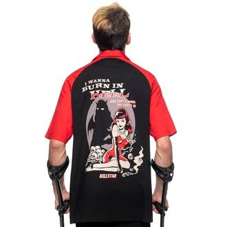 Camicia da uomo KILLSTAR - Lei Devil Bowling - Nero, KILLSTAR