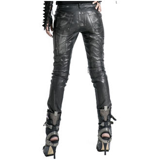 Pantaloni Da donna PUNK RAVE - Therion - nero / argento, PUNK RAVE