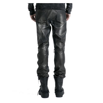 Pantaloni Uomo PUNK RAVE- Therion - nero / argento, PUNK RAVE