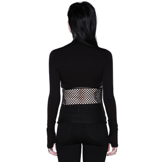 Maglietta da donna a maniche lunghe (top) KILLSTAR - SIndi Fishnet Top, KILLSTAR