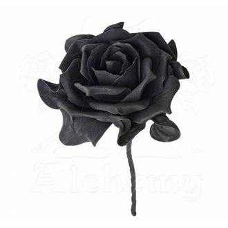 Decorazione ALCHEMY GOTHIC - Single Black Rose with Stem