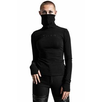 Maglietta da donna a maniche lunghe KILLSTAR - Sit & Spin Turtleneck - Nero, KILLSTAR