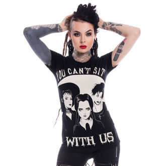 t-shirt donna - SIT WITH US - HEARTLESS, HEARTLESS