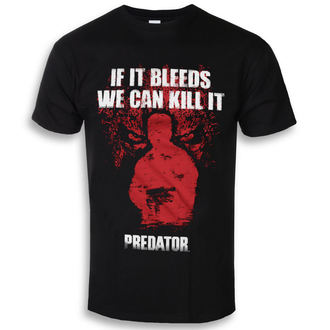 t-shirt film uomo Predator - If It Bleeds - HYBRIS, HYBRIS, Predator