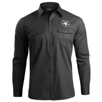 Camicia Uomo con lungo maniche AMENOMEN - CHURCH OF SATAN, AMENOMEN