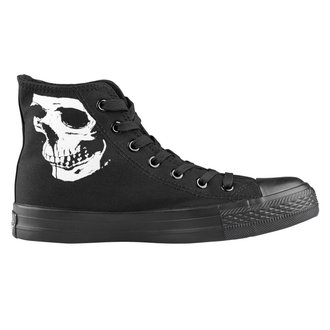 scarpe da ginnastica alte unisex - Skull 2 - AMENOMEN, AMENOMEN