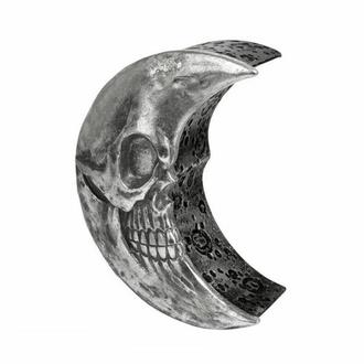 Decorazione (scatola) ALCHEMY GOTHIC - Skull Moon - Argento, ALCHEMY GOTHIC