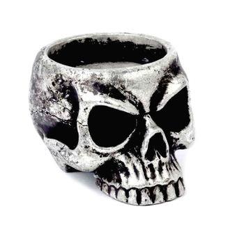 Supporto per candela (decorazione) ALCHEMY GOTHIC - Skull Tea, ALCHEMY GOTHIC
