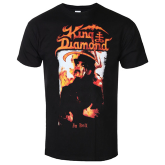 t-shirt metal uomo King Diamond - IN HELL - PLASTIC HEAD, PLASTIC HEAD, King Diamond