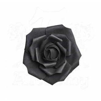 Decorazione ALCHEMY GOTHIC - Small Black Rose Head