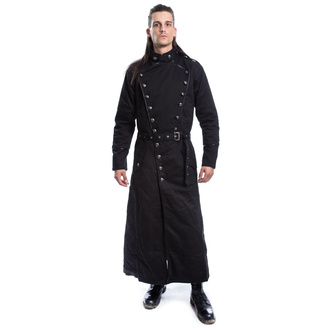 Cappotto da uomo CHEMICAL BLACK - SOLOMON - NERO, CHEMICAL BLACK