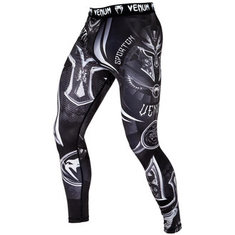pantaloni sportivi uomo (a compressione) VENUM - Gladiator 3.0 - Nero / bianca, VENUM