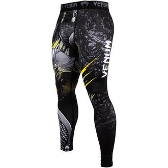 pantaloni sportivi uomo (a compressione) Venum - Viking 2.0 - Nero / Giallo, VENUM
