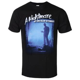 Maglietta da uomo Nightmare on Elm Street - Freddy Is Waiting - Nero, BIL, Nightmare - Dal profondo della notte
