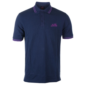 Maglietta da uomo Black Sabbath - Wavy Logo - BLU NAVY Polo, ROCK OFF, Black Sabbath