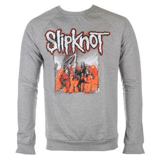 Maglietta con maniche lunghe da uomo Slipknot - Self-Titled - GRIGIO - ROCK OFF, ROCK OFF, Slipknot