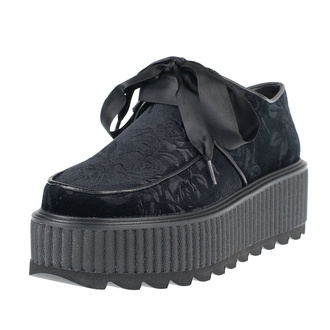 Scarpe da donna KILLSTAR - Vampires Kiss Creepers - NERO, KILLSTAR
