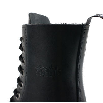 stivali in pelle unisex - STEADY´S - STE/10_black