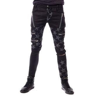Pantaloni Uomo VIXXSIN - STAR CHAOS - NERO, VIXXSIN