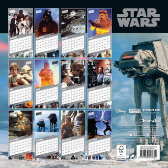 Calendario STAR WARS 2021, NNM, Star Wars