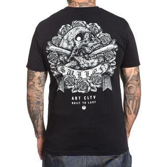 t-shirt hardcore uomo - STIPPLE SKULL - SULLEN, SULLEN