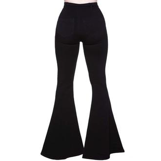 pantaloni da donna KILLSTAR - Sukie Denim Razzi - Nero, KILLSTAR