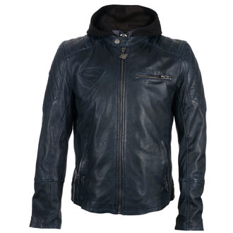 giacca di pelle Superman - DARK BLUE -