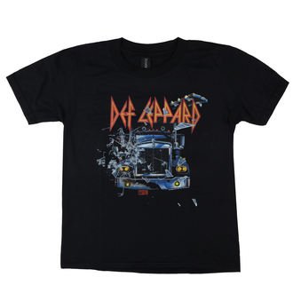 t-shirt metal uomo Def Leppard - On through the night - LOW FREQUENCY, LOW FREQUENCY, Def Leppard