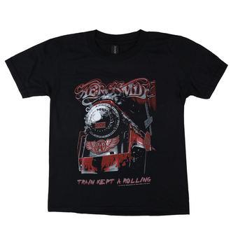 t-shirt metal bambino Aerosmith - Train kept a going - LOW FREQUENCY, LOW FREQUENCY, Aerosmith