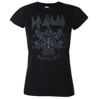 t-shirt metal donna Def Leppard - Sheffield 1977 - LOW FREQUENCY, LOW FREQUENCY, Def Leppard